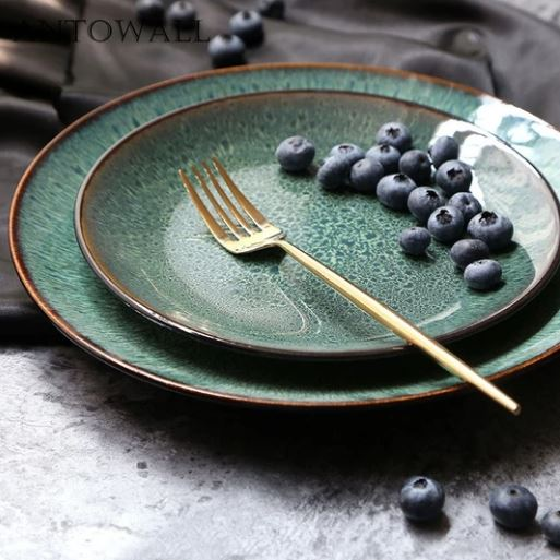 Malachite Green Ceramic Tableware_Popsicle Society Shop_Black Friday