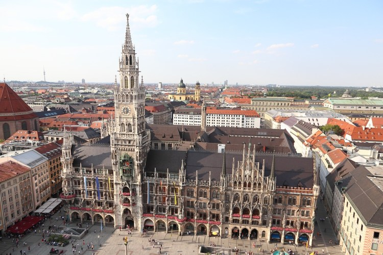 Marienplatz Munich_Popsicle Society