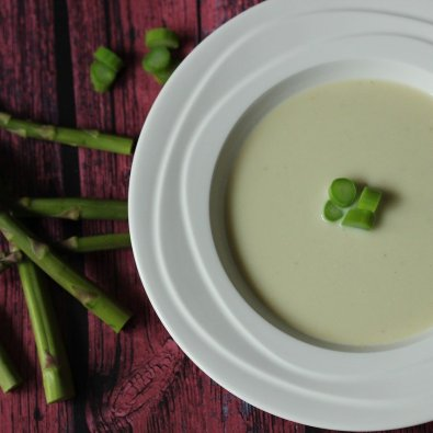 cream asparagus