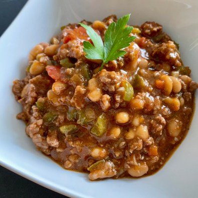 Chilli con carne and peppers_Popsicle Society