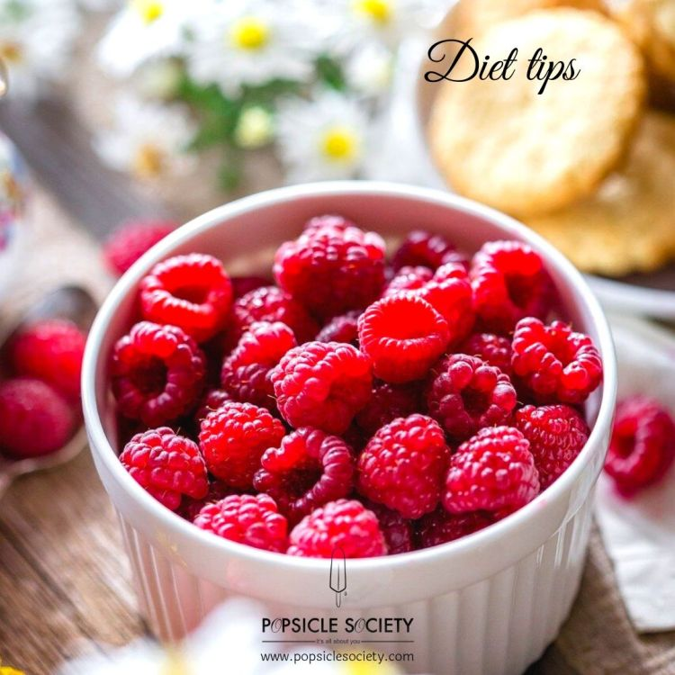 Diet tips raspberries_Popsicle Society