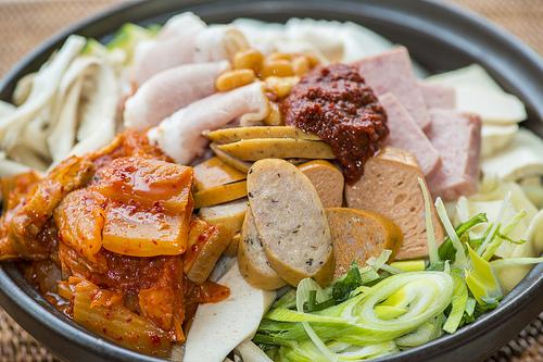 Sarang's signature dish: Army Stew