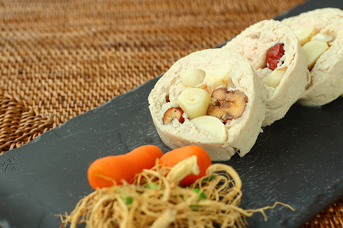 Ginseng Chicken Terrine