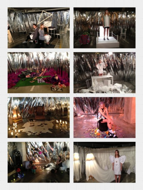 Fashion Installation at Sofitel (Underground)