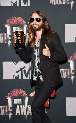 Jared Leto at the 2014 MTV Movie Awards (Credit - Jason Merritt)