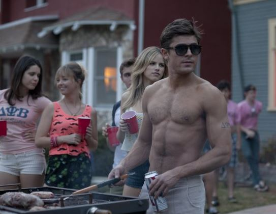 neighbours Zac bad efron
