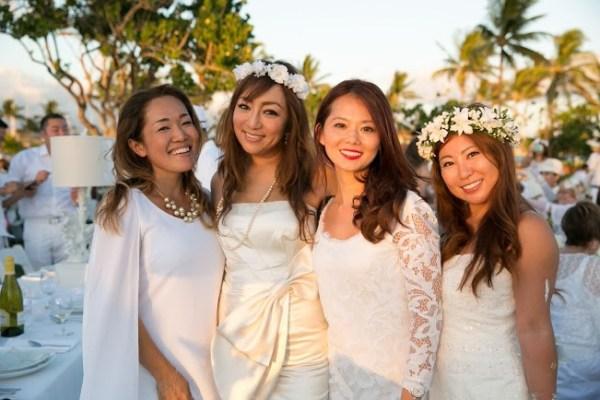 Diner en Blanc 2015 Honolulu Photo Jason Kimfashion