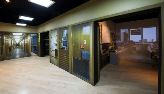Collider exhibition, Offices at CERN