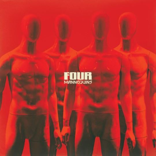 """Mannequins """"Four"""" Album Art"""