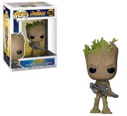Image Avengers 3 - Teen Groot w/Gun Pop!