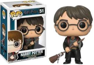 Image Harry Potter - Harry w/Firebolt Pop! !E RS