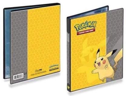 Image Pokemon Pikachu 9-Pocket Full-View Portfolio
