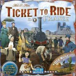 Image Ticket to Ride Map Collection: Volume 6 ‰ÛÒ France & Old West
