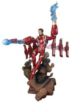 Image Avengers 3: Infinity War - Iron Man Mark 50 Unmasked Deluxe Gallery Statue