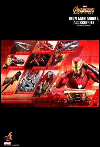 Image Avengers 3: Infinity War - Iron Man Mark L Accessories
