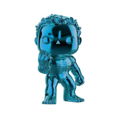 Image Avengers 4: Endgame - Hulk Blue Chrome US Exclusive Pop! Vinyl [RS]