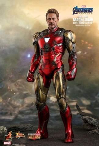 Image Avengers 4: Endgame - Iron Man Mark LXXXV (Battle Damaged) Diecast 1/6th Scale Action Figure