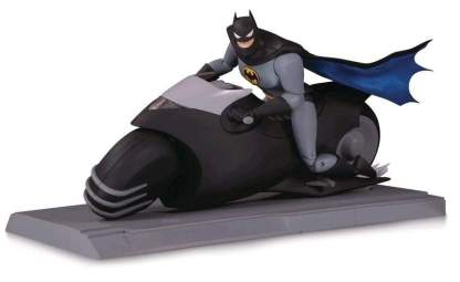 Image Batman: The Animated Series - Batcycle & Action Figure Set