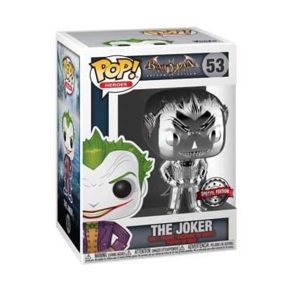 Image Batman - The Joker Silver Chrome Pop! RS