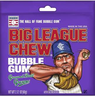 Image Big League Chew - Grape Bubble Gum