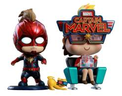Image Captain Marvel - Captain Marvel & Movbi Cosbaby Set