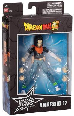 Image DRAGON BALL SUPER - DS ANDROID 17 FIGURE - DRAGON STARS SERIES - AA