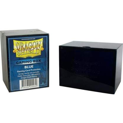 Image Dragon Shield Deck Strong Box Blue