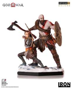 Image God of War (2018) - Kratos & Atreus 1:10 Scale Statue
