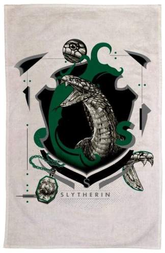 Image Harry Potter - Slytherin Tea Towel
