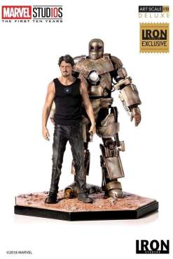 Image Iron Man - Tony Stark & Mark I 1:10 Scale Statue Exclusive