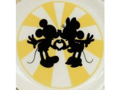 "Image Mickey & Minnie - 6"" Plate"