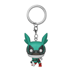 Image My Hero Academia - Deku with Helmet Pop! Keychain