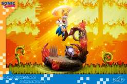 Image Sonic the Hedgehog - Sonic & Tails Statue