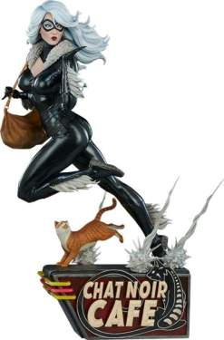 Image Spider-Man - Black Cat Statue