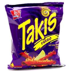 Image Takis Fuego - Hot Chilli Pepper & Lime