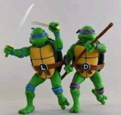 Image Teenage Mutant Ninja Turtles - Leonardo & Donatello Action Figure 2-pack