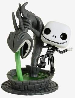Image The Nightmare Before Christmas - Jack in Fountain Movie Moment Pop! Vinyl [RS]