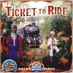 Image Ticket to Ride: The Heart of Africa