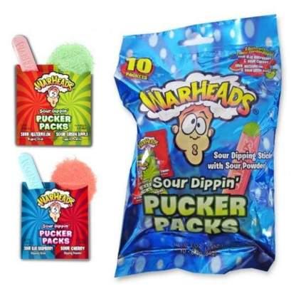Image Warheads Sour Dippin' Pucker Packs