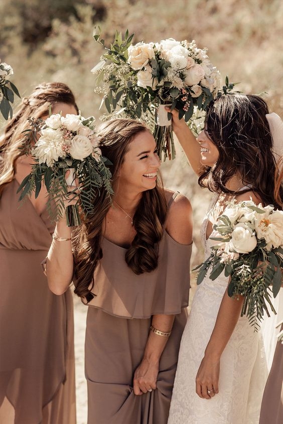 wedding bridesmaid dresses in Wedding Checklist process