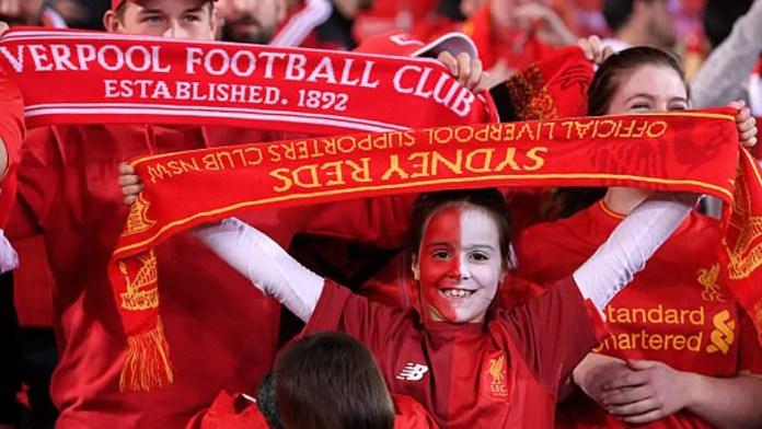 Liverpool Australia fans