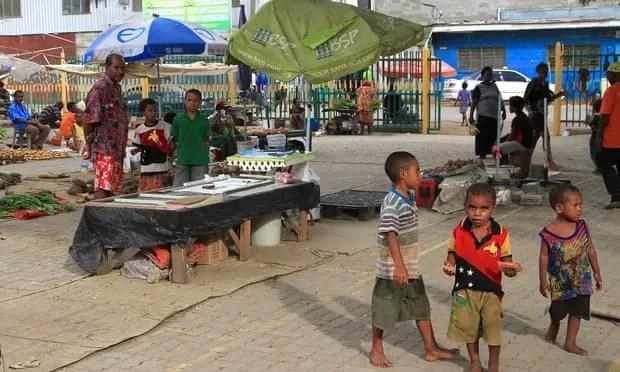 PNG black market