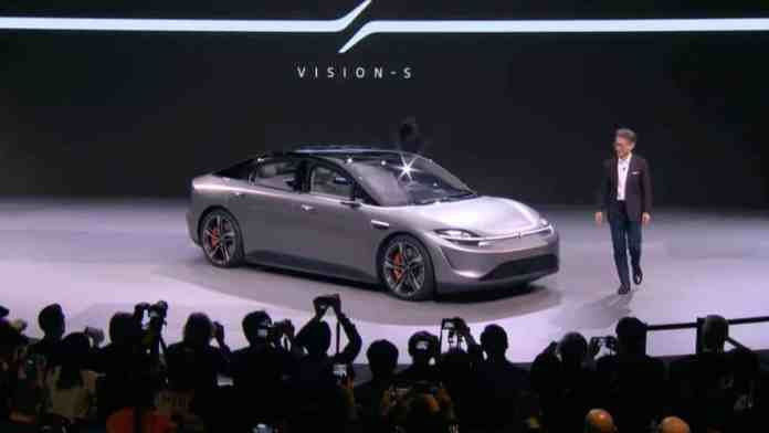 The Sony Vision-S car is the sexiest thing we've ever seen