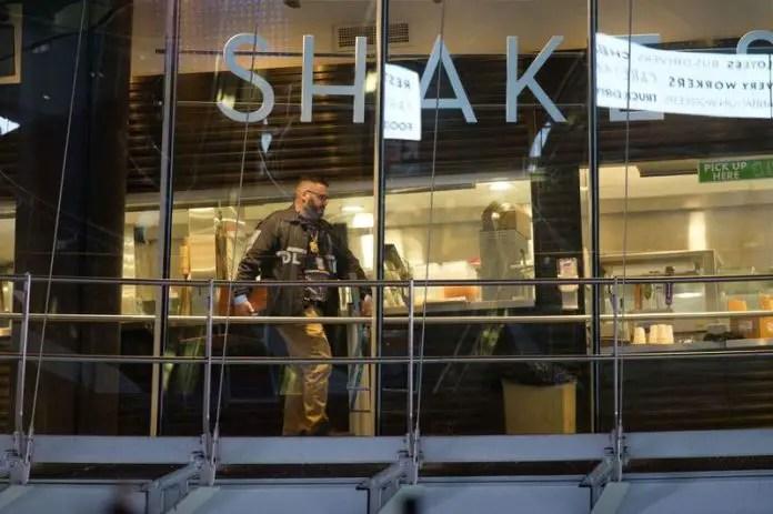 Manhattan Shake Shack poisoned three cops