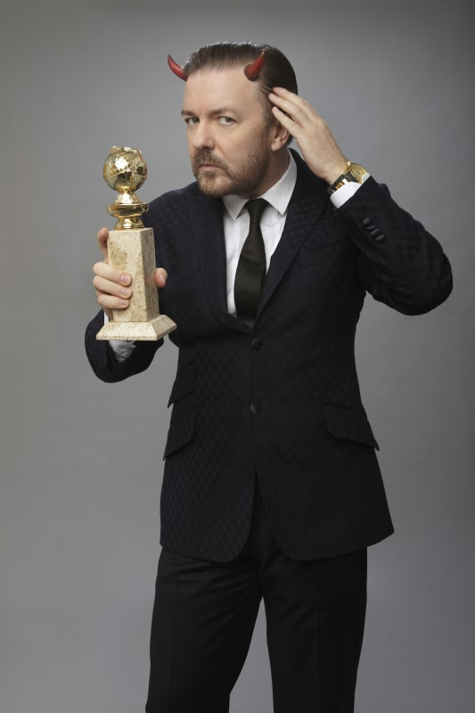 British comedian Ricky Gervais roasts Reynolds