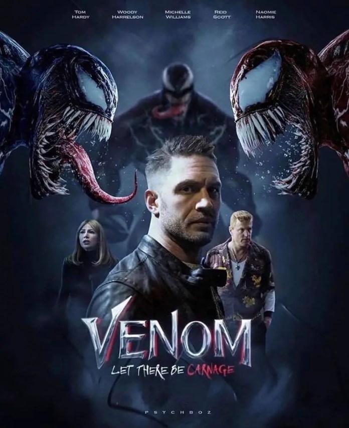 Venom 2 poster fan made