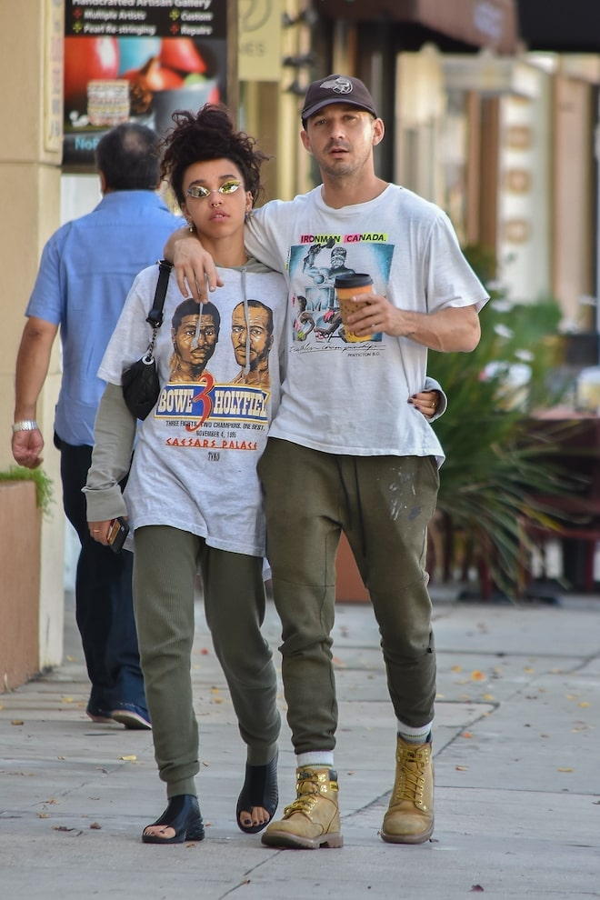 LaBeouf and FKA Twigs