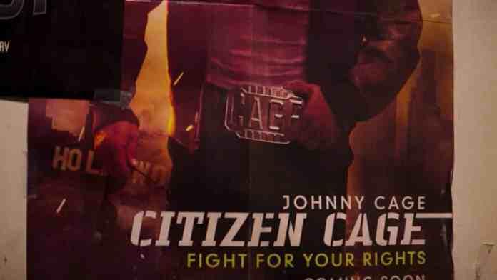 Citizen Cage Mortal Kombat movie