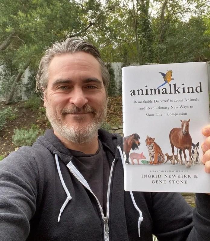 Joaquin Phoenix animal rights vegan