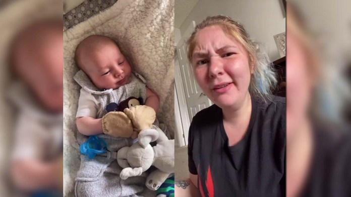 TikTok mother says her baby son is awful because he's white